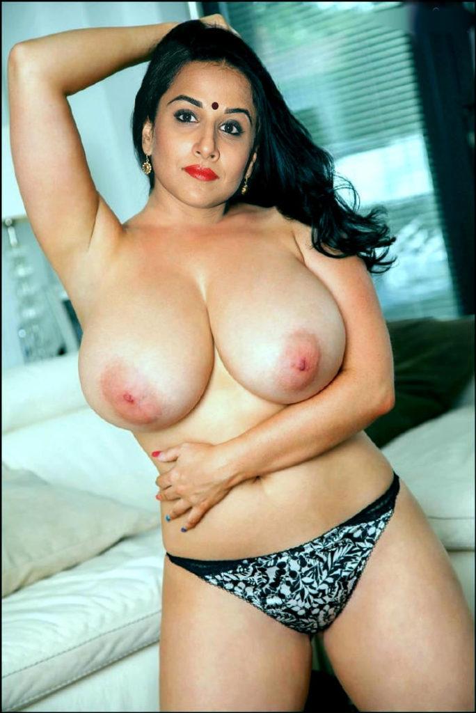 Vidya Balan Hot Nude Xxx Porn Photos